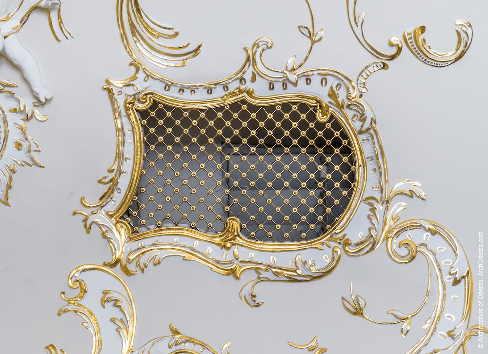 Вентиляционная решетка вычурной формы