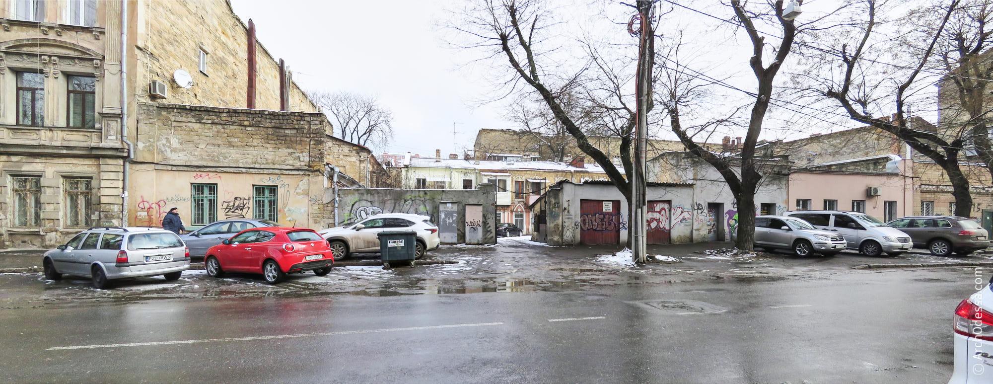 Участок флигелей Снежко-Блоцкого на Осипова, 31