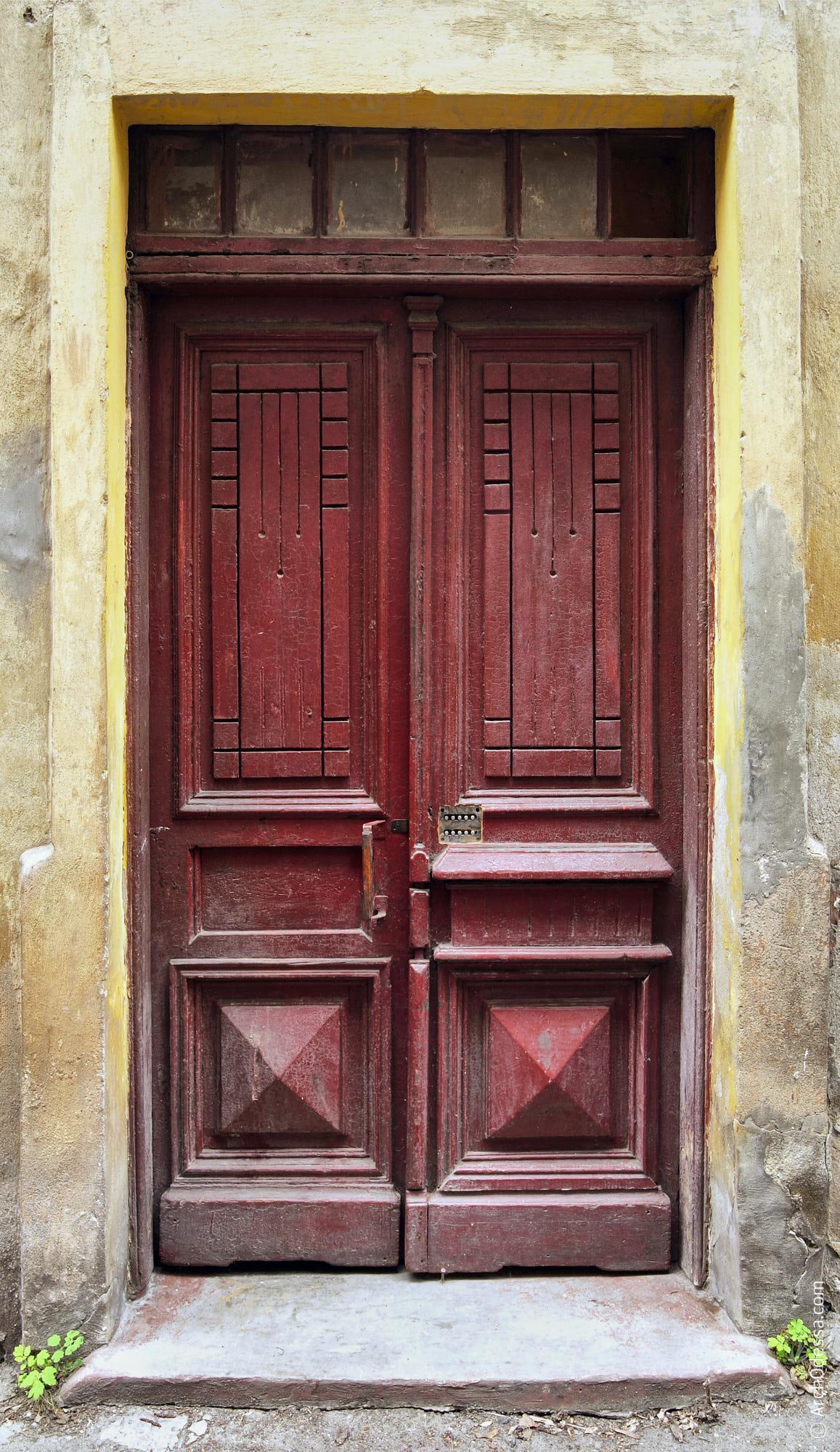 Дверь до перекраски
