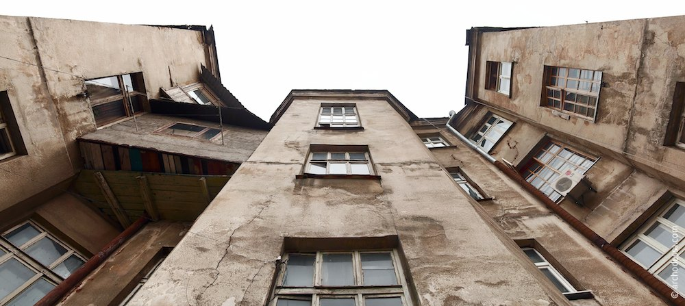 Risalit of the backside wing staircase