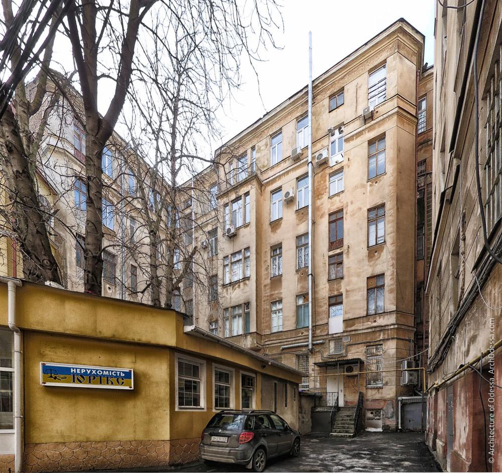 Тыльный фасад крыла по Пушкинской