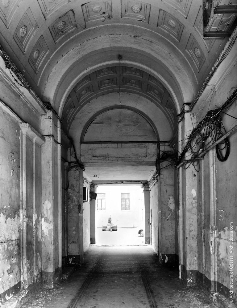 Внутренний вид с улицы