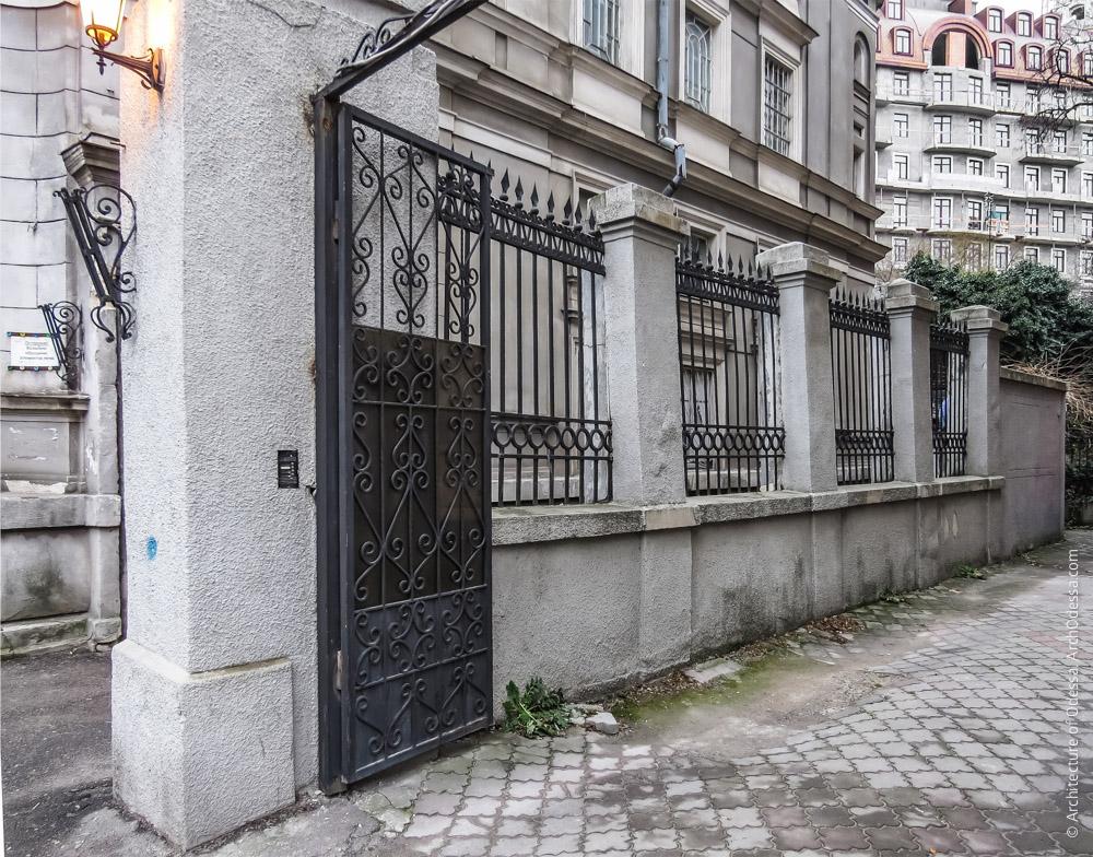 Ограда между участками № 3 и 5