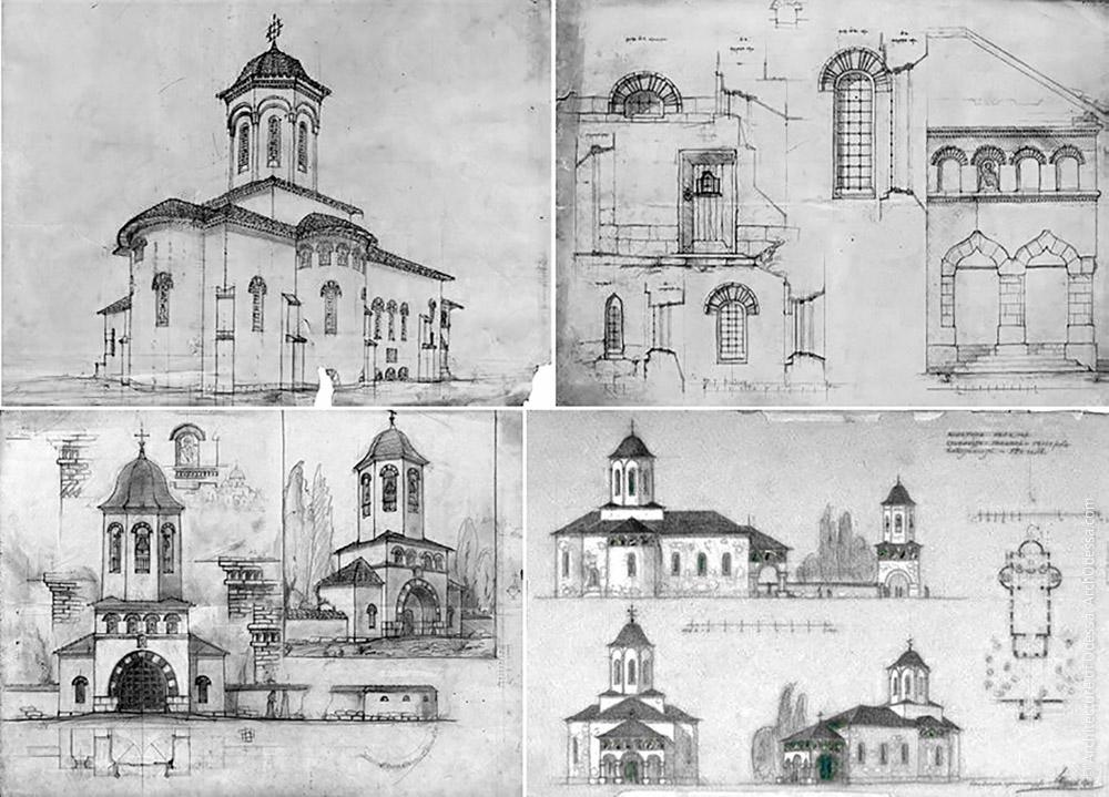 Ескізи загальних фасадних рішень