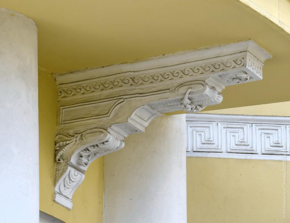 Консоль балконного настила