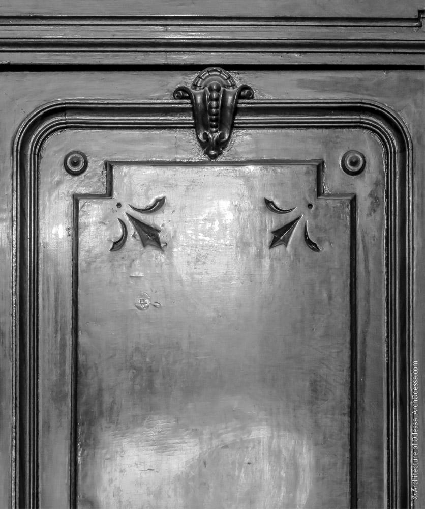 Дверь, фрагмент створки