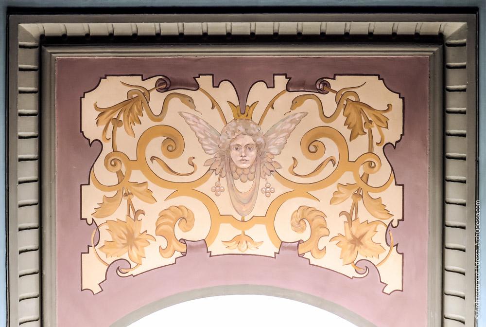 Потолок, элемент росписи