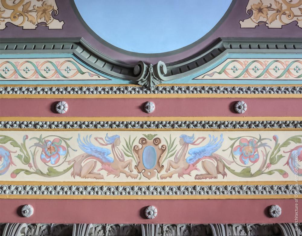 Потолок, фрагмент орнаментации