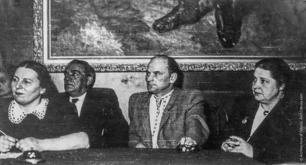 Встреча с актерами театра им. И. Франко