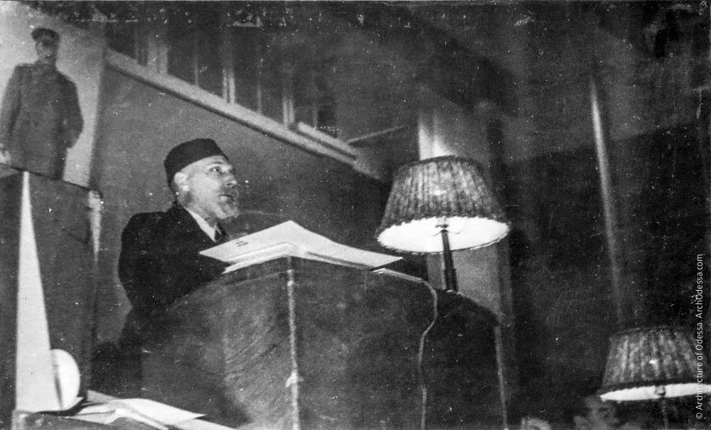 Выступление академика В. П. Филатова
