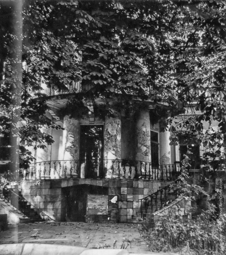 Старый дворец, предреставрационная фотография 1970-х г.г.