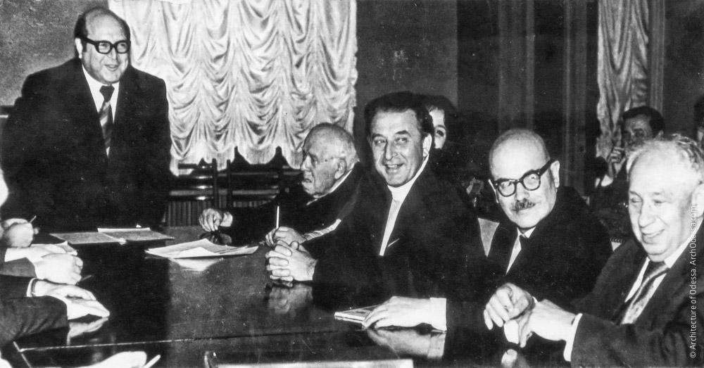 Заседание правления ОДУ, 1977 г.