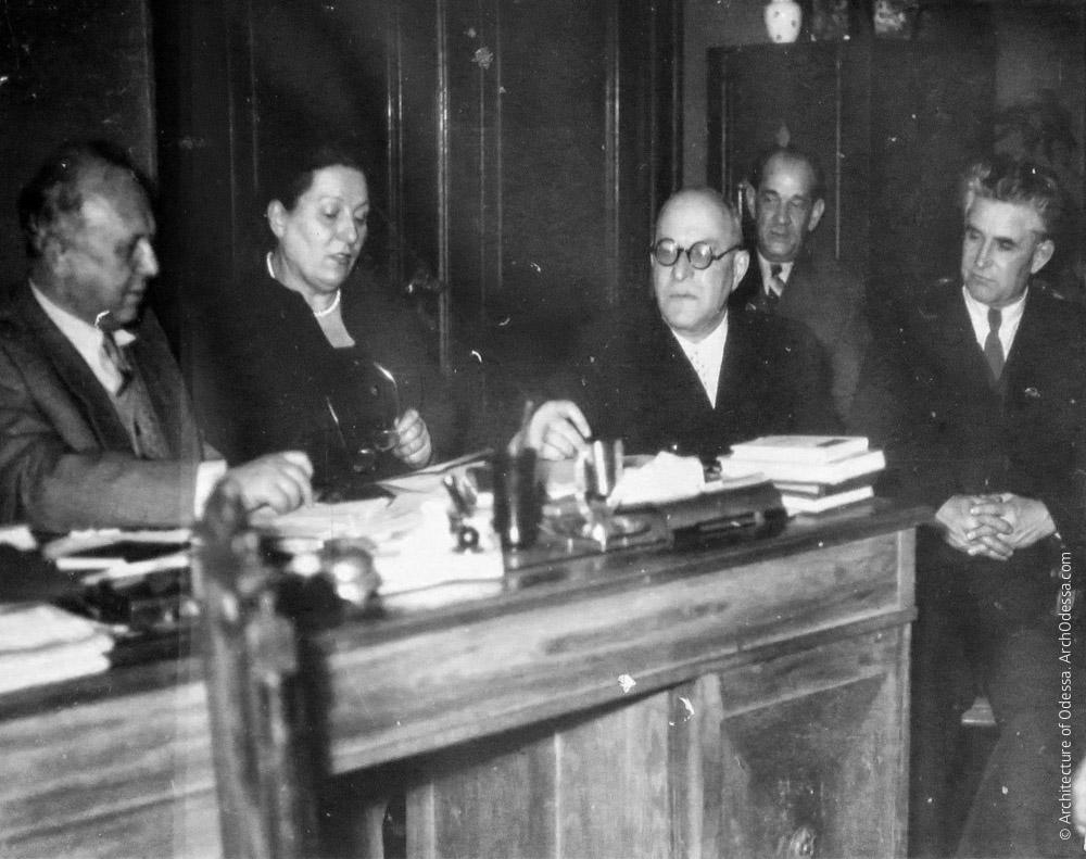 Заседание правления ОДУ, 1961 г.