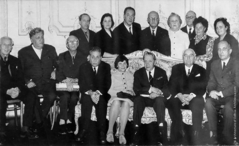 Встреча, посвященная 75-летию со дня рождения Л. И. Славина