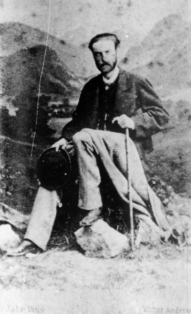М. М. Толстой, Ницца, 1869 г.