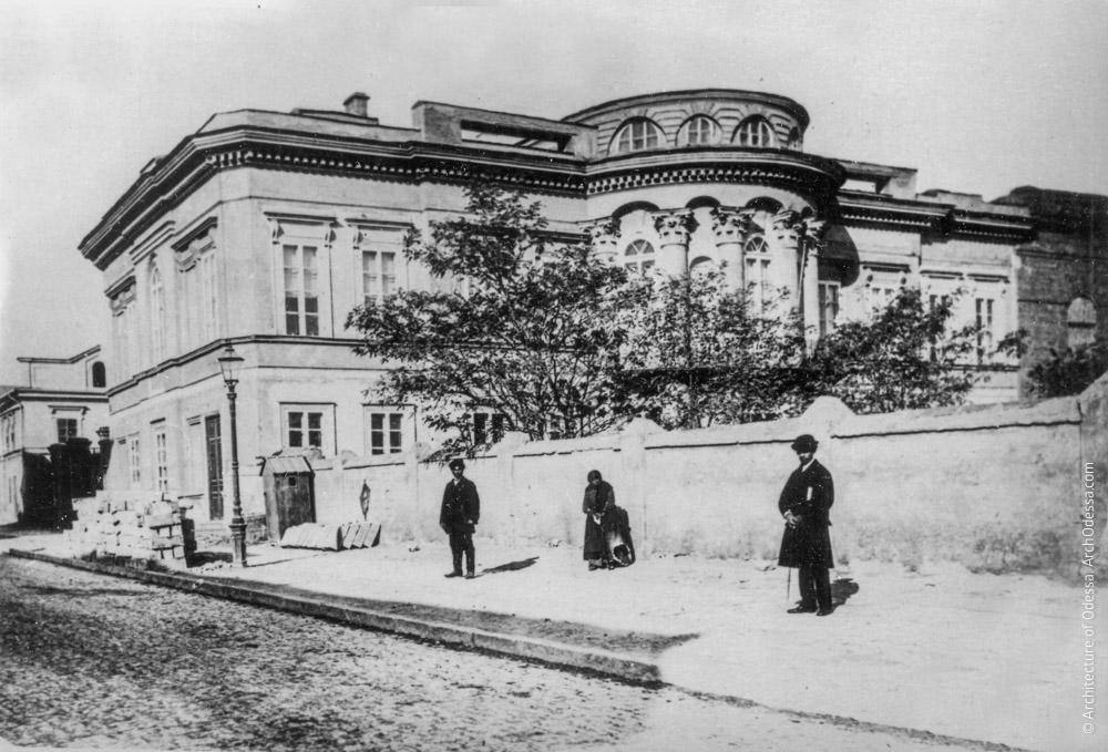 Старый дворец, 1870-е г.г.