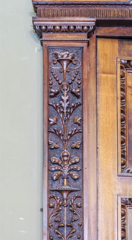 Дверной портал, фрагмент орнаментации