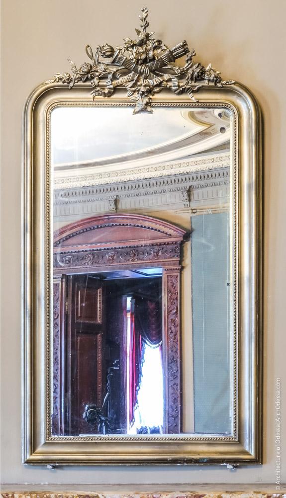 Левостороннее зеркало