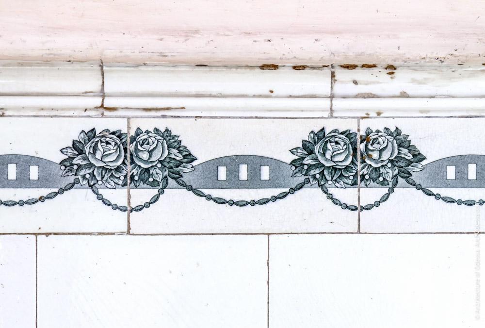 Орнаментация стенного кафеля