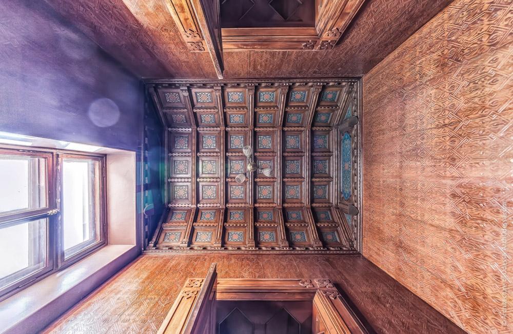 Потолок, общий вид