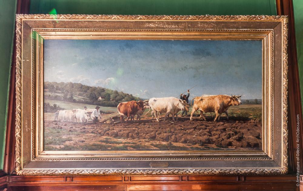 Картина, сохранившаяся от обширной коллекции Толстого или Народного музея