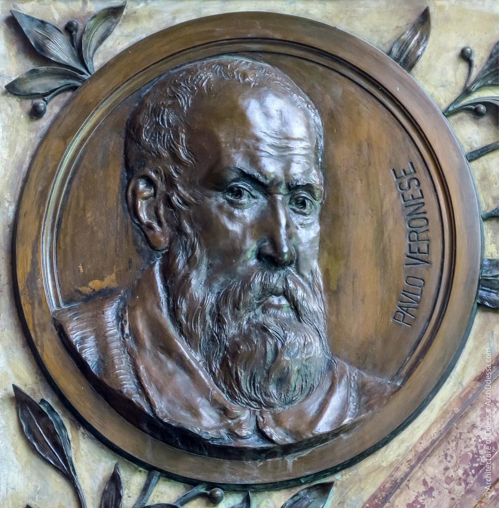 Медальон с портретом Веронезе