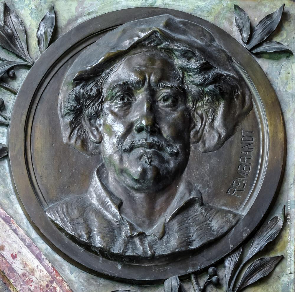 Медальон с портретом Рембрандта