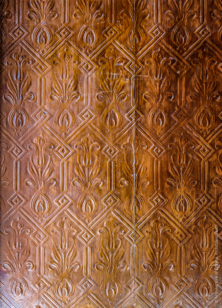 Фрагмент отделки плоскостей стен