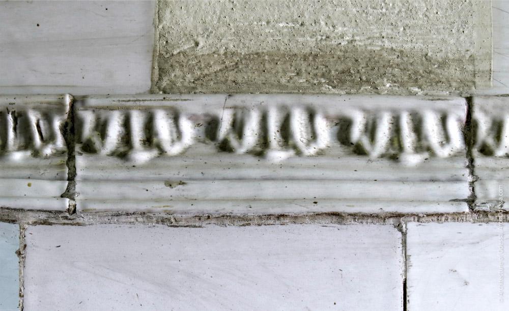 Груба, фрагмент декоративной тяги