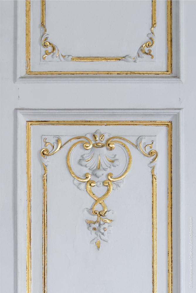 Фрагмент створки двери