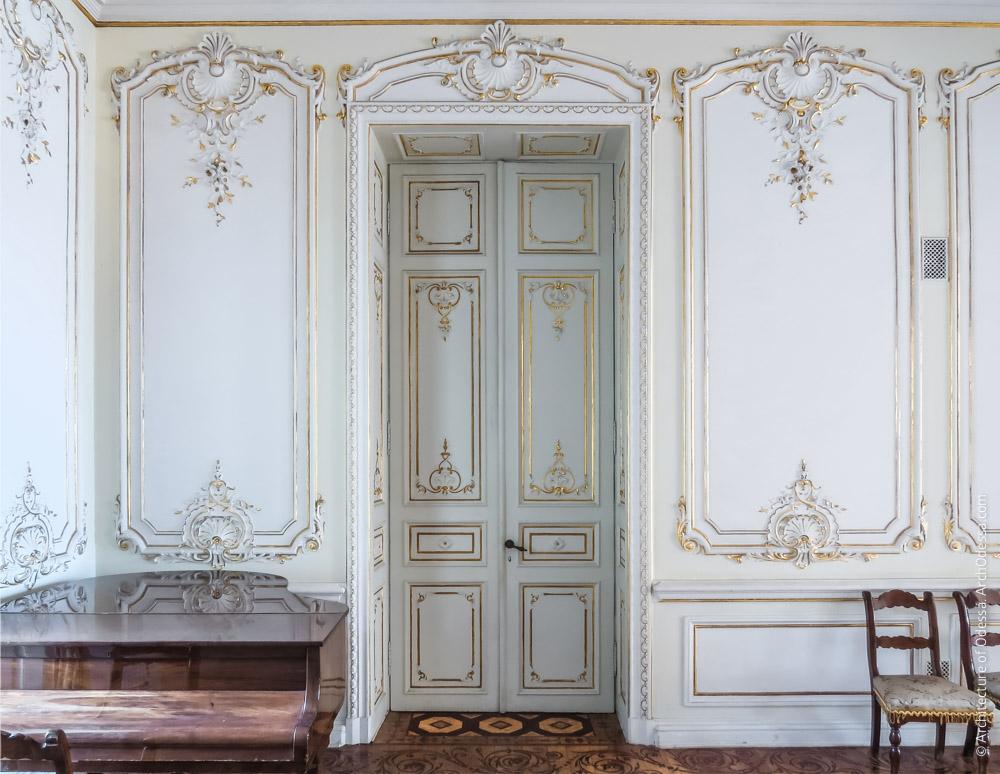 Дверь и филенки