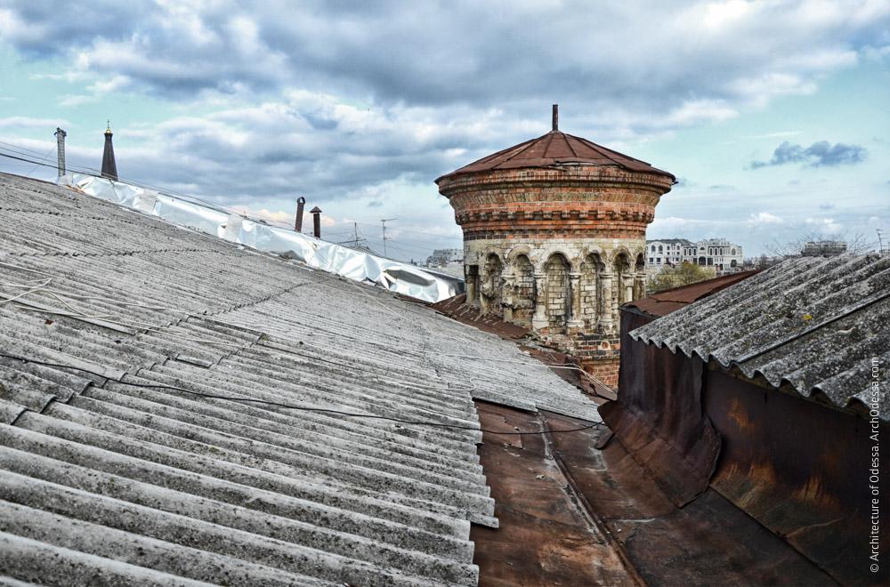 Верхний ярус, вид с крыши, фото: Екатерина Гамарник