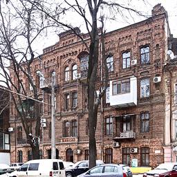 Mietshaus Mavromatis Bolschaja-Arnautskaja-Strasse 10