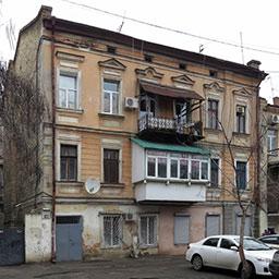 Доходный дом Сапожникова и Гителиса на Базарной, 102