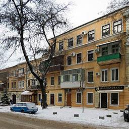 Доходный дом Стурдзовской богадельни сердобольных сестёр на Базарной, 4