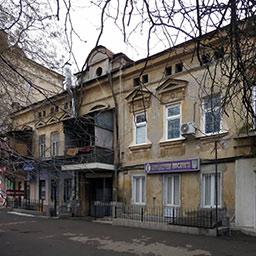 Дом меблированных комнат П. Благина на Базарной, 69