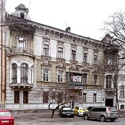 Architecture Of Odessa. Architectural photography. Interiors Of Odessa. Facades Of Odessa. History Of Odessa. Tourism in Odessa. Mobile tourist application in Odessa. Odessa Guide. The V. S. Kotlyarevsky's house and outbuilding. 10 Marazlievskaya Street