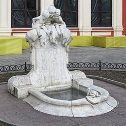 Фонтан-скульптура Молодость
