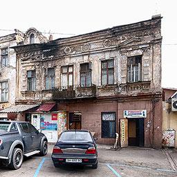 Дом и бакалейный магазин Г. И. Перепелицина. Старорезническая, 31