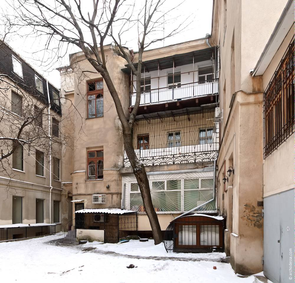 8,Troitskaya. Maison de rapporrt de N.I. Katskovskaya. L'architecture d'Odessa. Histoire d'Odessa. Tourisme à Odessa. Architecture en Ukraine