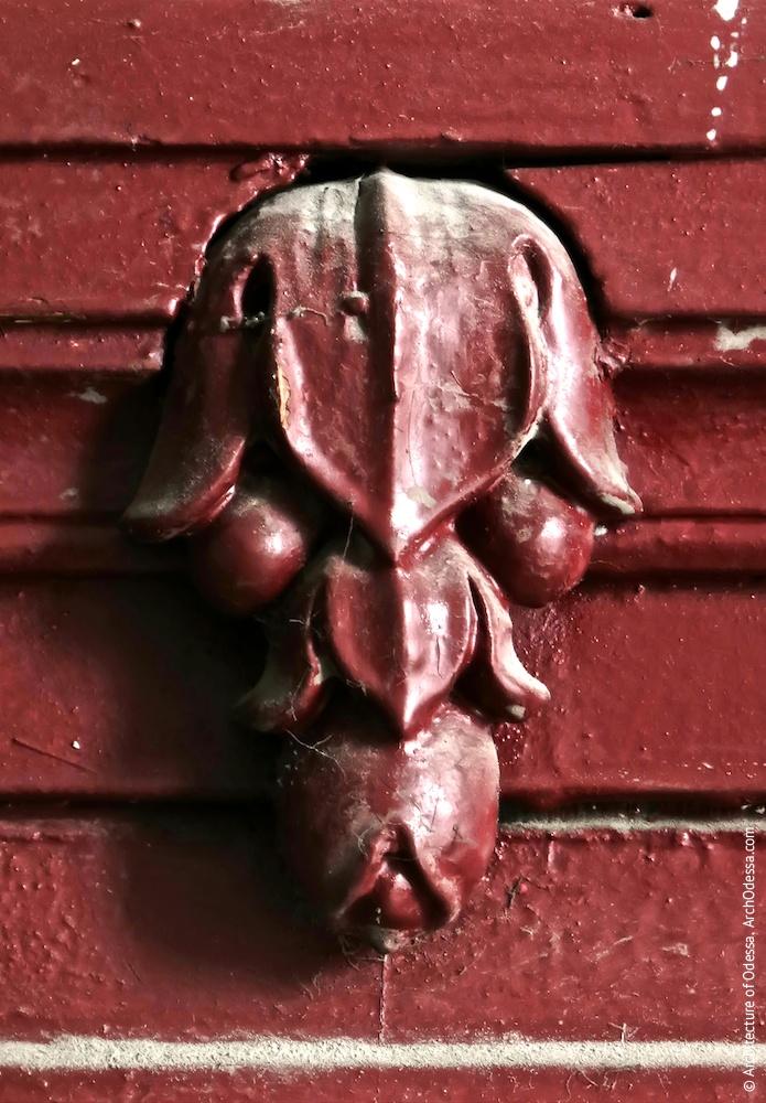 Квартирні двері, деталь