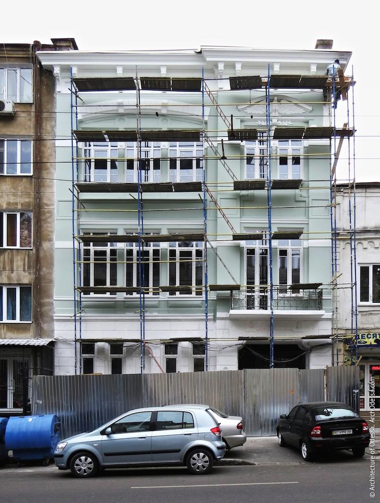 Загальний вигляд в процесі реставраційних робіт 2013-14 рр.