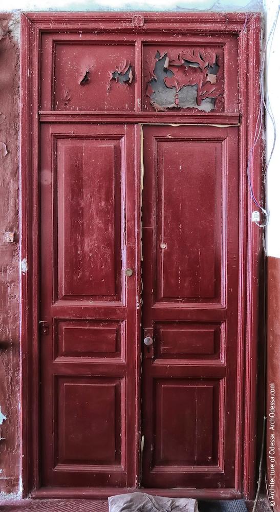 Квартирні двері, двухствірчатий варіант