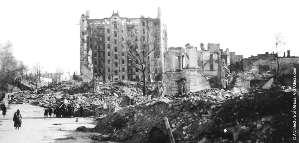 Фото дома первой половины 1940-х г.г.