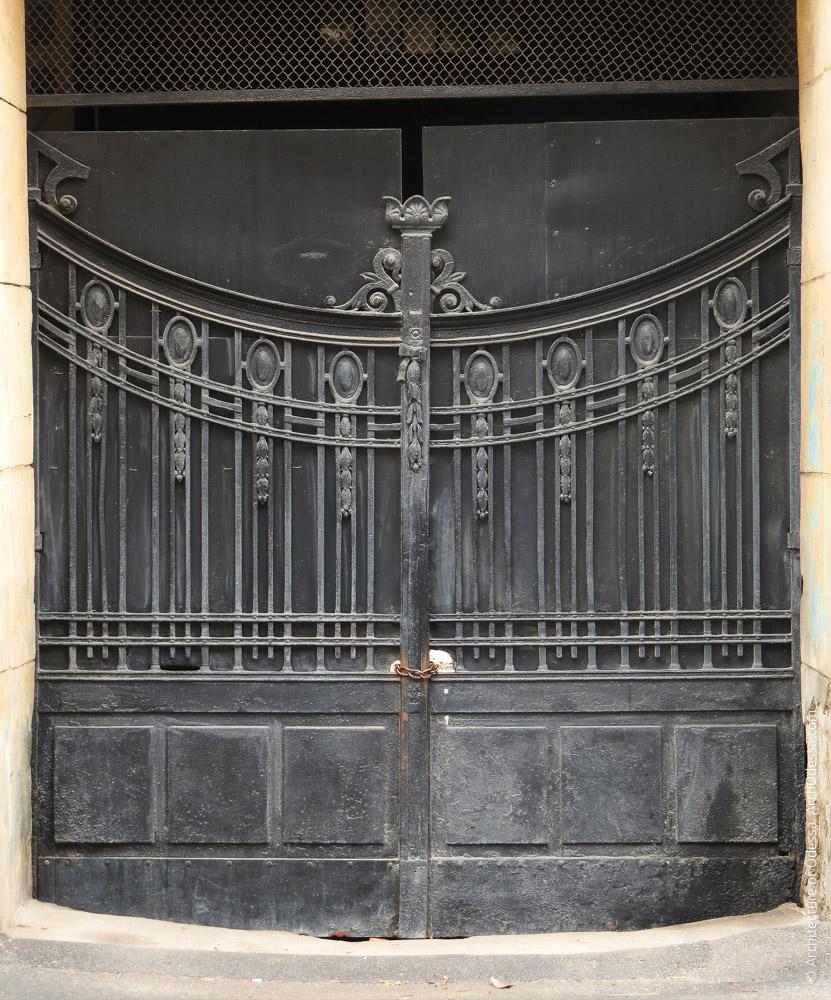 Ворота, общий вид