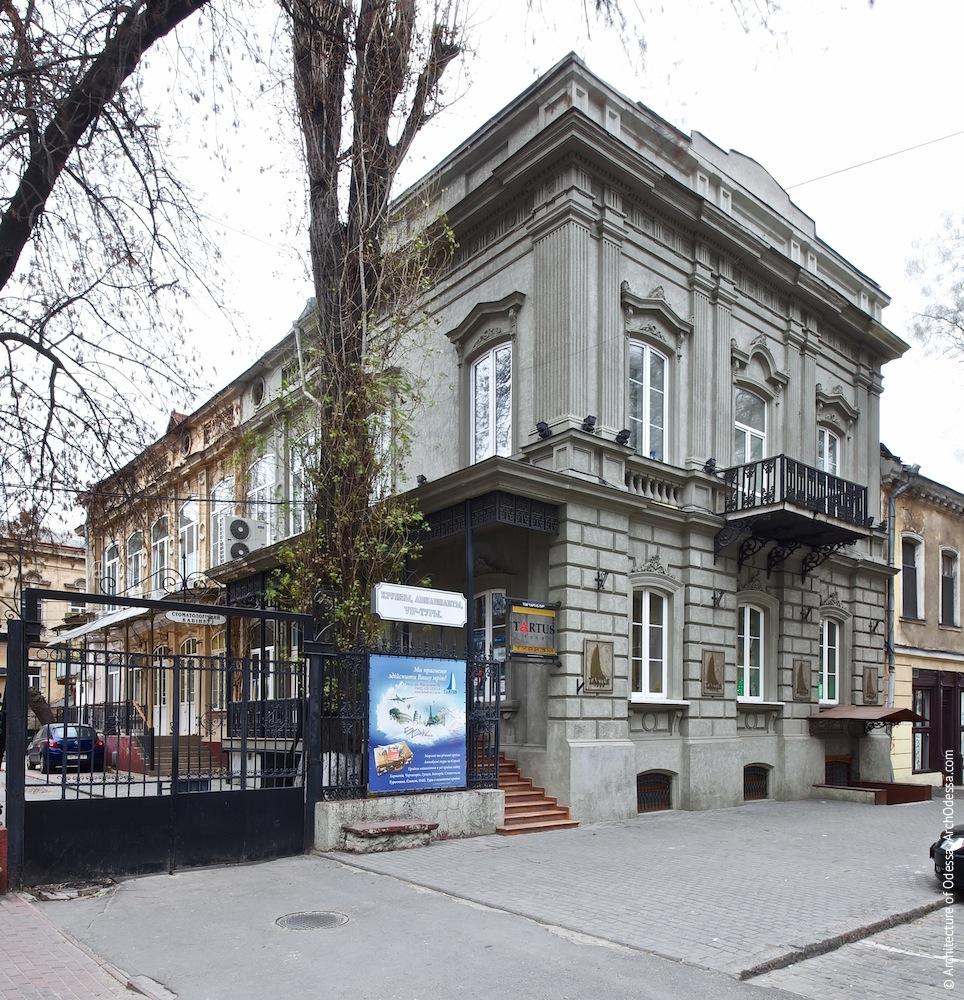 Жуковского, 32. Усадьба Параскева. Вид с улицы