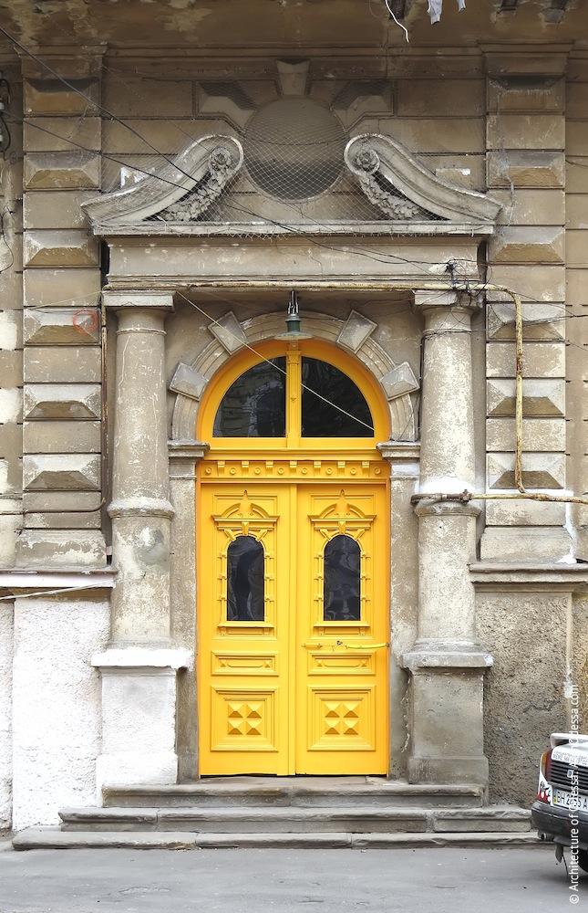 После реставрации двери