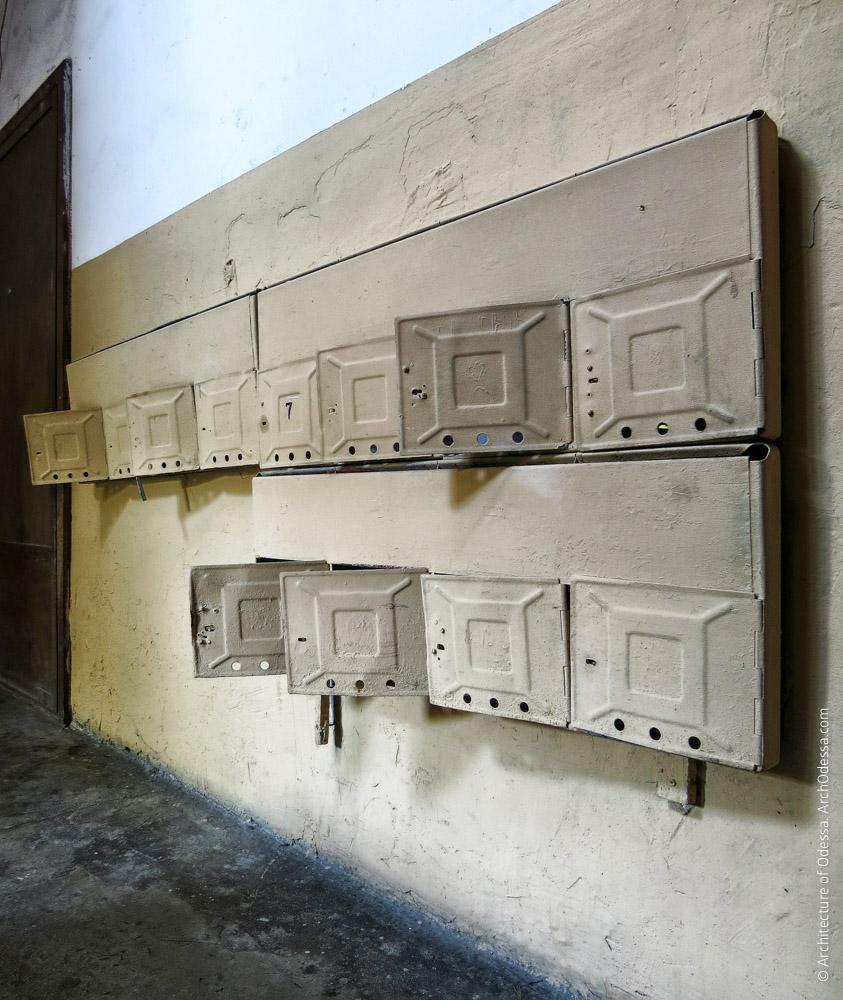 Блок почтовых ящиков